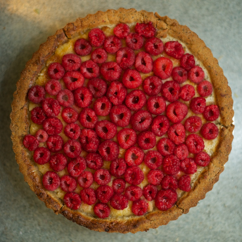 NBBO - Lemon and Raspberry Tart
