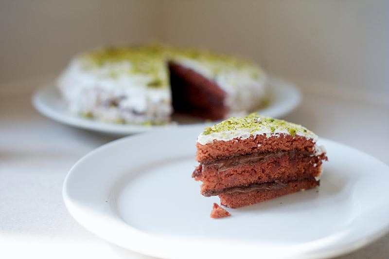 NBBO - GF Red Velvet Beetroot Cake