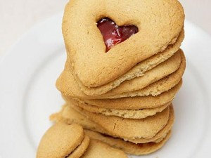 Wedding Linzer Cookies